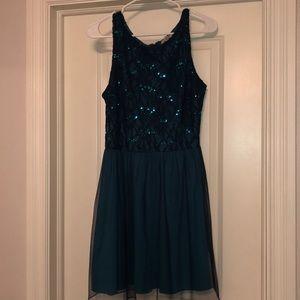 Turquoise dress!